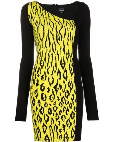 Платье макси длинное - желтое Just Cavalli