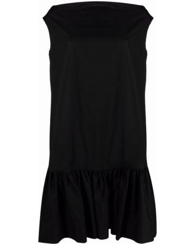 Черное платье миди без рукавов с вырезом Lautre Chose