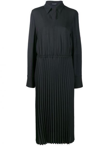Платье макси длинное - черное Luisa Cerano