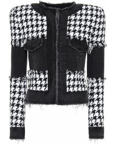 Пиджак черный Balmain