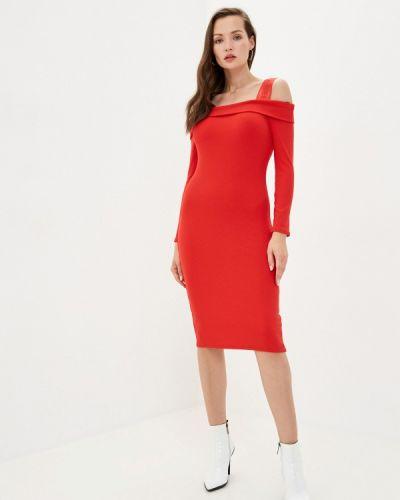 Красное джинсовое платье Guess Jeans