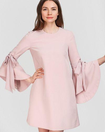 Розовое платье весеннее Herstory