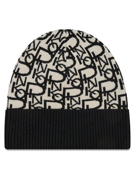 Czarna czapka Pinko
