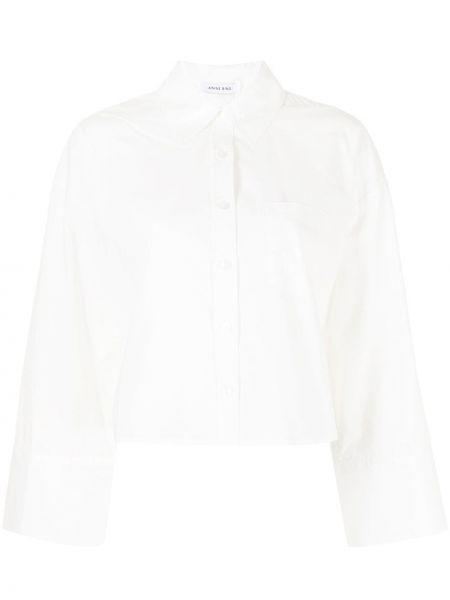 Белая рубашка с воротником Anine Bing