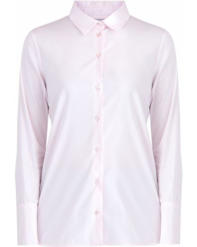 Приталенная рубашка - розовая Maison Ullens