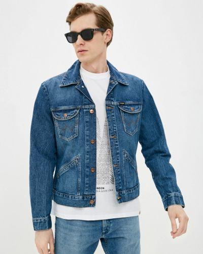 Джинсовая куртка - синяя Wrangler
