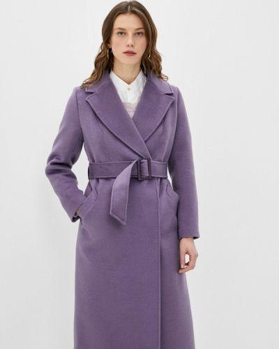 Фиолетовое пальто двубортное Vivaldi