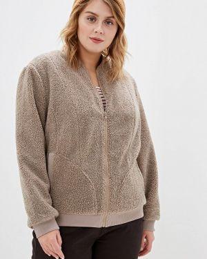 Куртка - бежевая авантюра Plus Size Fashion