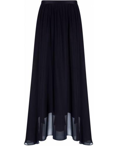 Шифоновая черная юбка со шлейфом Prabal Gurung