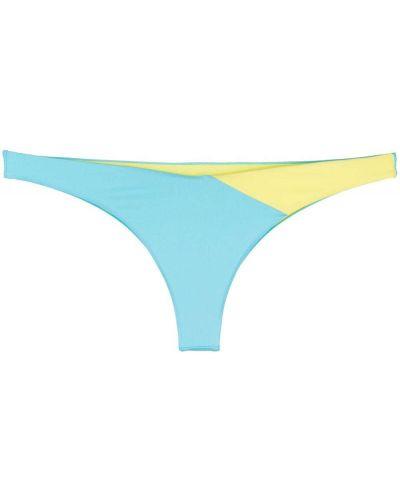 Пляжные синие бикини эластичные Mc2 Saint Barth