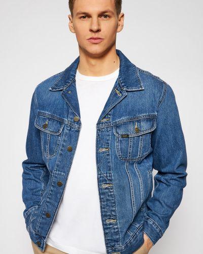 Джинсовая куртка - синяя Lee