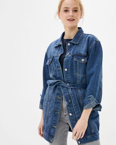 Синяя джинсовая куртка Softy