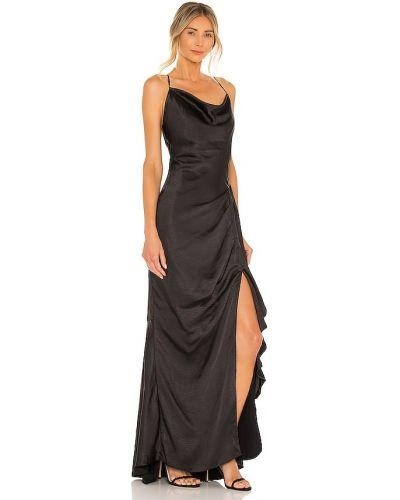 Czarna sukienka rozkloszowana casual Elliatt
