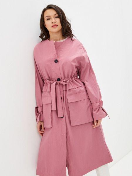 Плащ розовый весенний Selected Femme