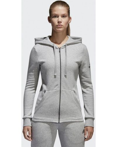 Толстовка серый Adidas