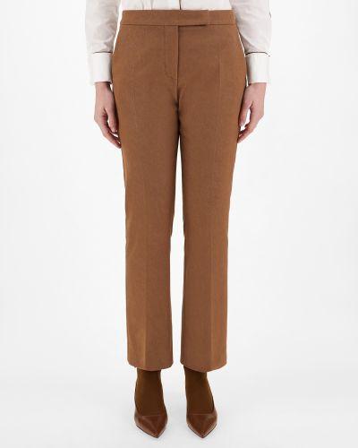 Зауженные брюки - коричневые Maxmara