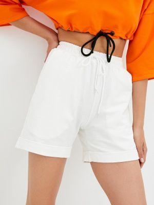 Белые повседневные шорты D.s