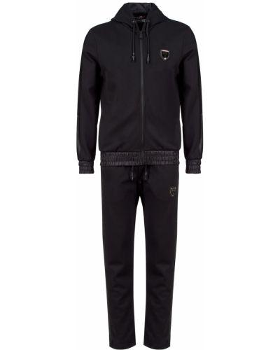 Спортивный черный костюм Plein Sport