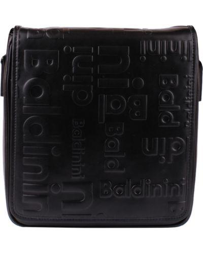 Кожаная сумка - черная Baldinini