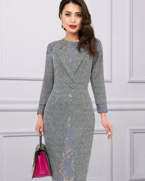 Платье серое платье-сарафан Charutti