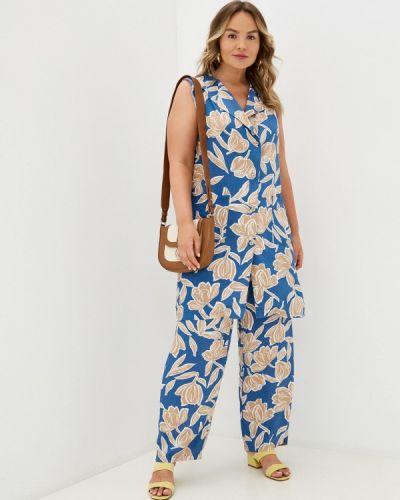 Голубой весенний костюм Prewoman