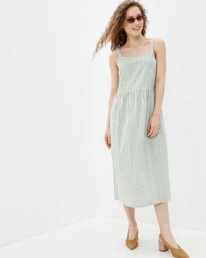 Платье платье-сарафан зеленый Ichi