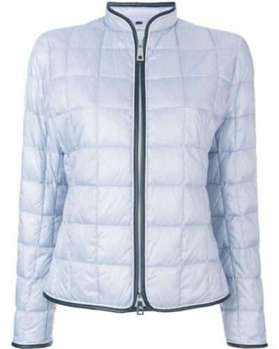 Кожаная куртка стеганая на молнии Fay