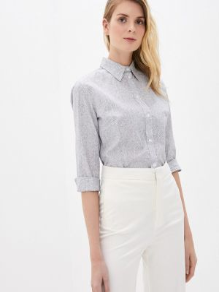Блузка с коротким рукавом весенний серая Gabriela