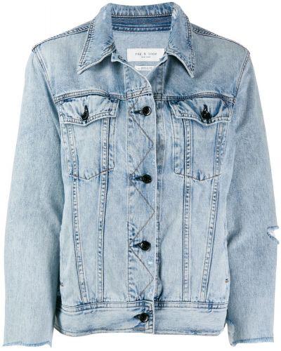 Джинсовая куртка на пуговицах классическая Rag & Bone