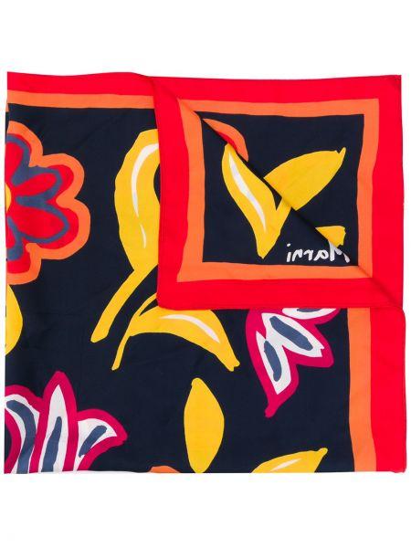 Облегченный желтый шелковый платок Marni