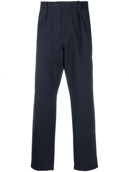 Czarny spodni z wysokim stanem spodnie Gucci