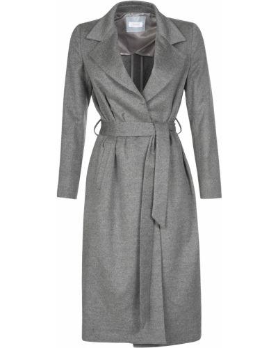 Кашемировое пальто - серое Barba Napoli