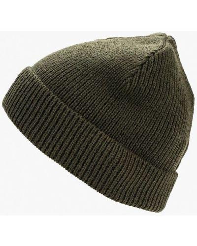 Зеленая шапка осенняя Puma
