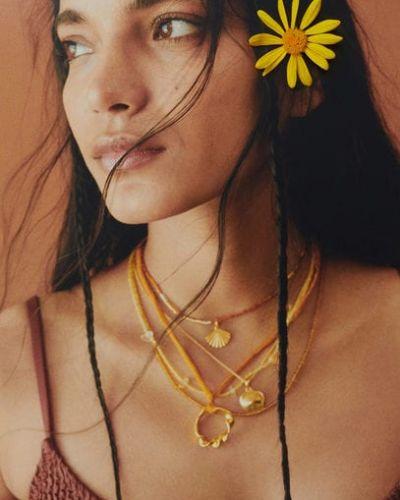 Ожерелье в бусинах Mango