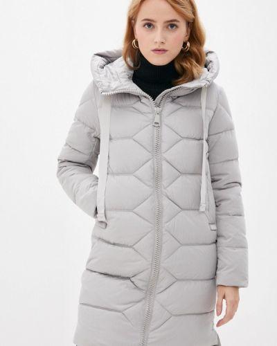 Утепленная куртка - серая снежная королева