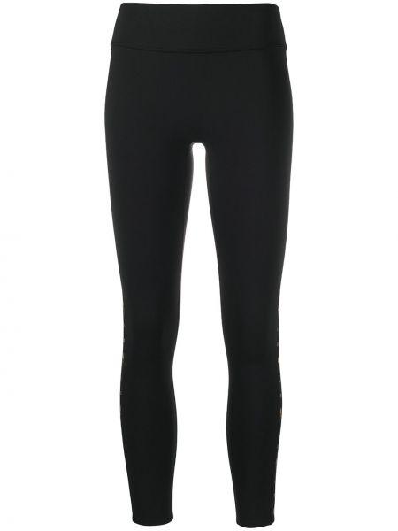 Облегающие черные леггинсы эластичные Reebok X Victoria Beckham