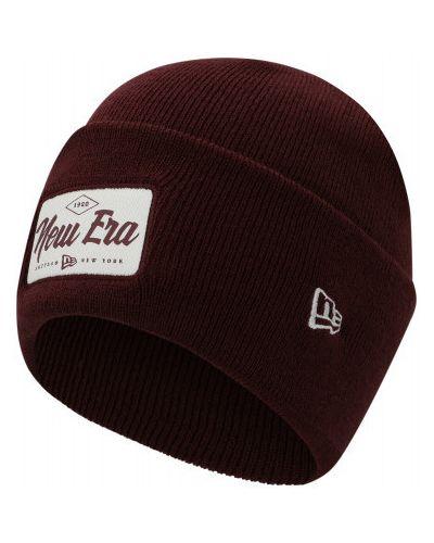 Спортивная шапка - красная New Era