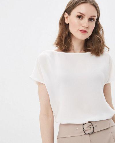 Блузка с коротким рукавом белая весенний Vittoria Vicci