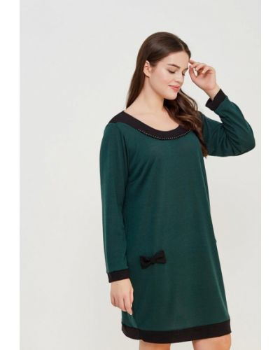 Зеленое платье льняное Kitana By Rinascimento