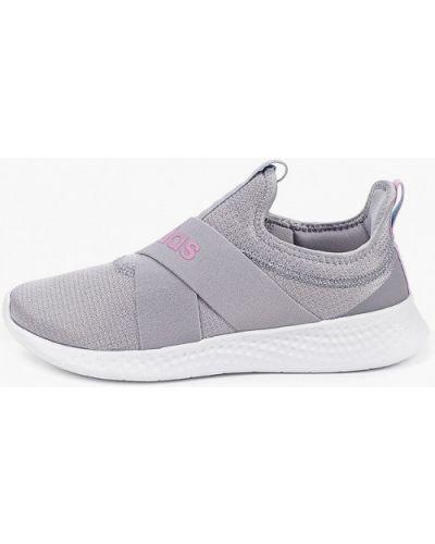 Текстильные серые кроссовки Adidas