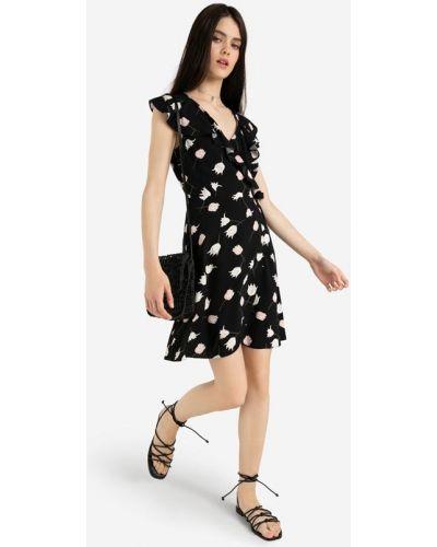 Джинсовое платье - черное Gloria Jeans
