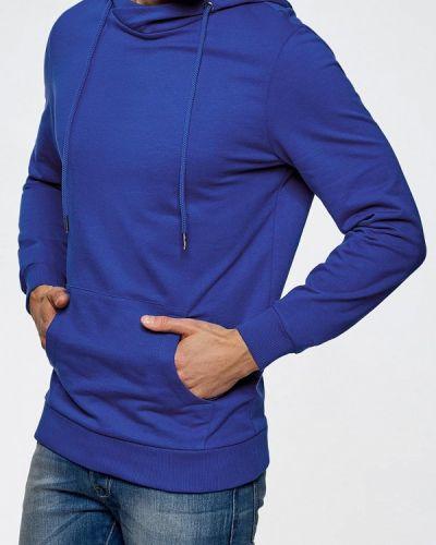Синее худи Oodji