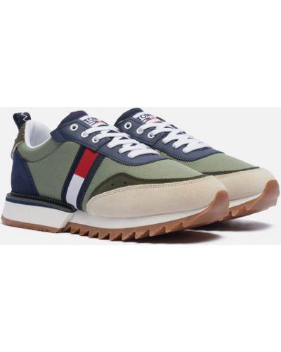 Кожаные кроссовки Tommy Jeans