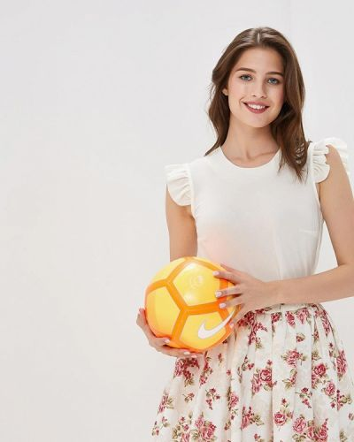 Блузка без рукавов белая весенний Irina Vladi