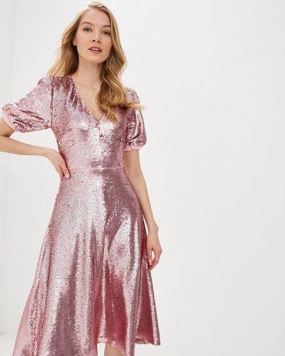 Вечернее платье розовое Tutto Bene