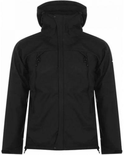 Куртка с капюшоном - черная Karrimor