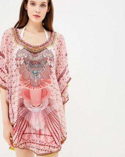 Розовое платье South Beach