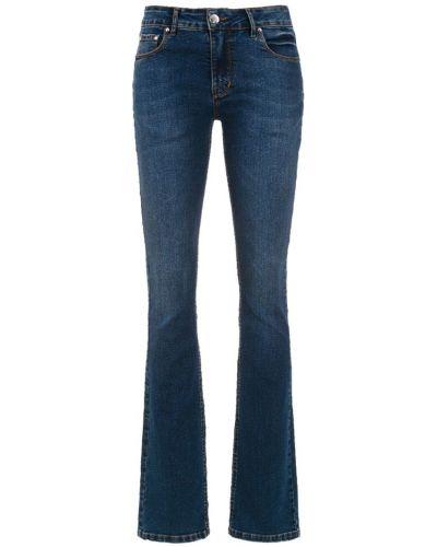 Прямые джинсы mom с накладными карманами Amapô