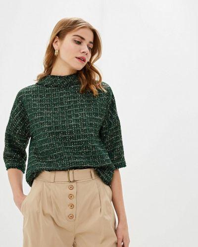 Блузка с коротким рукавом зеленый осенняя Lusio
