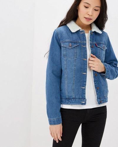 Синяя джинсовая куртка Modis